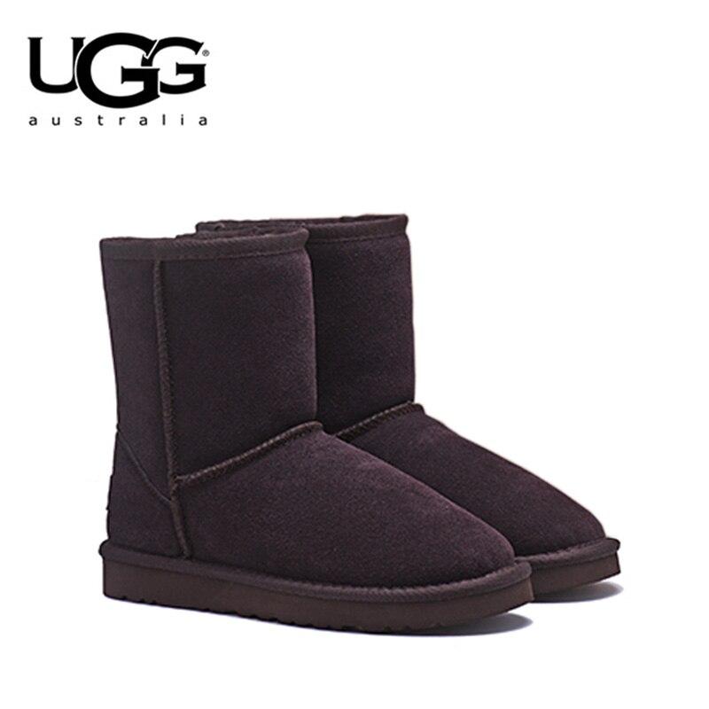 2019 Nuovo Arrivo Originale UGG Stivali 5825 Delle Donne scarpe Sexy di Inverno Stivali da neve uggs UGG Classico delle Donne di Pelle Di Pecora a Breve scarponi da sci