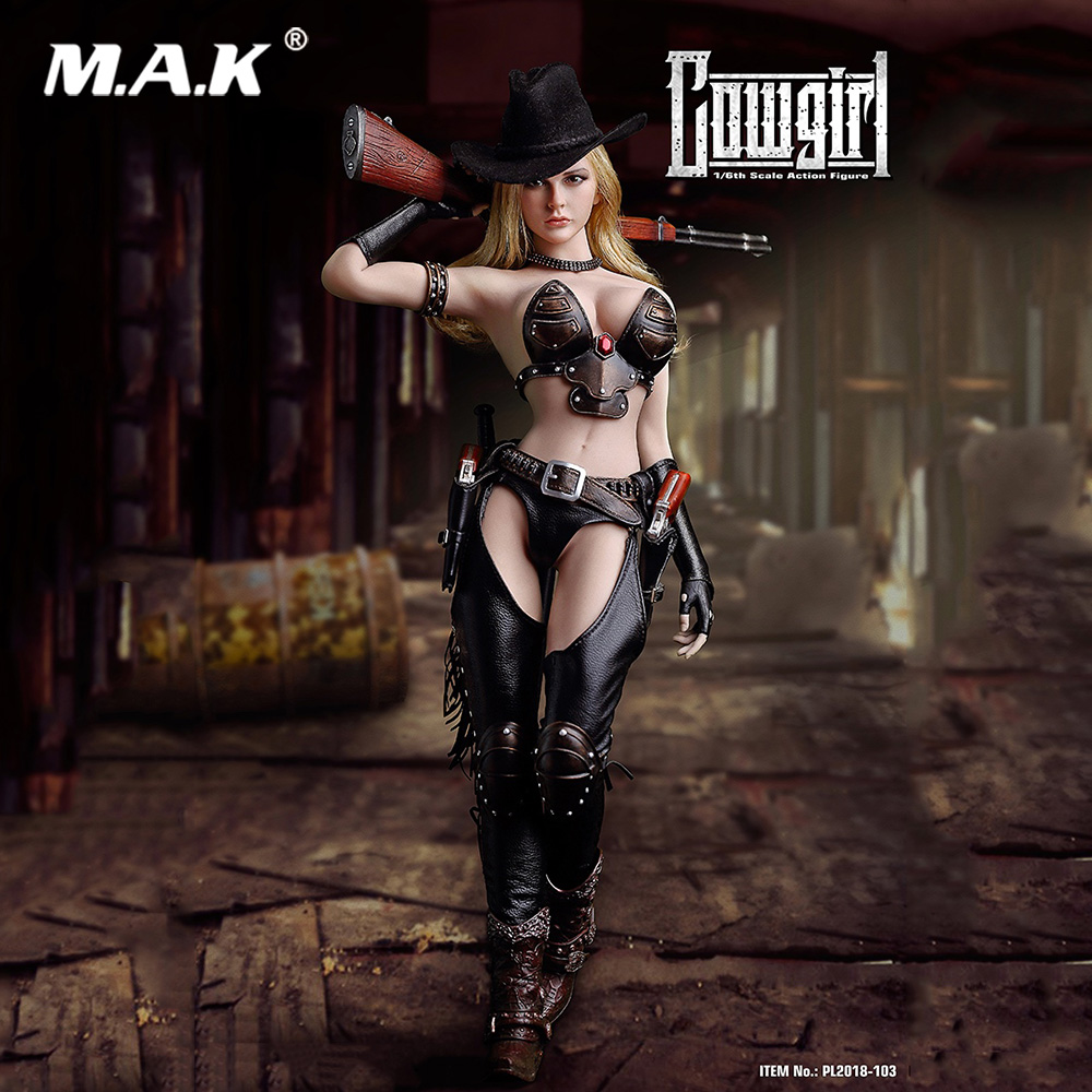 Coollectible Full Set Action Figure TBLeague PL2018-103 1/6 Western Cowgirl 12 inch Action Figures Doll for Gift все цены