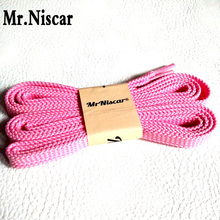 Mr.Niscar 1 Pair Men Women Fashion Casual Sneaker Shoelaces Polyester Flat Shoelace shoe laces for Boots Sneakers String Rope