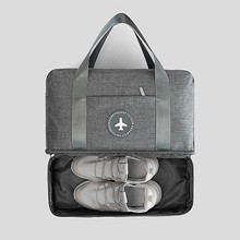 Bag for shoes  new portable  travel storage bag sports fitness bag beach bath bag for SPA dry and wet separation with shoe box цены онлайн