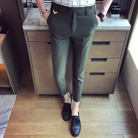 Summer Dress 2017 Green Suit Pants Mens Blue Party Pant Suits Pantalones Homme Classique Grey Social