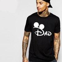 New Arrival Men Tshirt Print DAD Casual Short Sleeve Tee O Neck Solid T Shirt Men