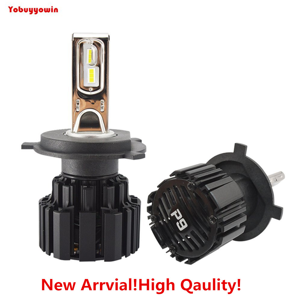 2Pcs Top Quality P9 100W DC11-30V Car Auto H4/9003/HB2 Hi/Lo LED Headlight With Automotive Grade Led Auto Led Lighting System