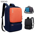 "SOCKO Brand Backpack Messenger Handbag For Laptop 15"",15.6 "",17 inch,17.3"" Notebook Bag,Packsack,Travel School Bag,Free Shipping"