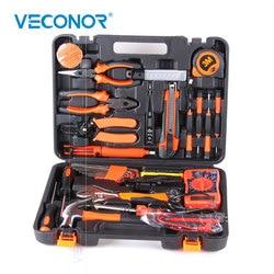 35 Pcs Listrik Tangan Alat Set Kit Alat Rumah Tangga Kit Obeng Palu Pita Pengukur Wrench Plier