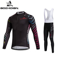 2017 AZD85 Pro Team Cycling Set Men Summer Maillot Ropa Ciclismo Long Sleeve Clothing Specialized Custom