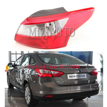 Rear Tail Light Outer Lamp for Ford Focus 2012-2014 MIZIAUTO 1PCS Car Styling Warning Brake Bumper