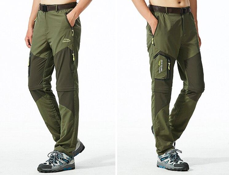 escalada calças secas rápidas plus size viagem