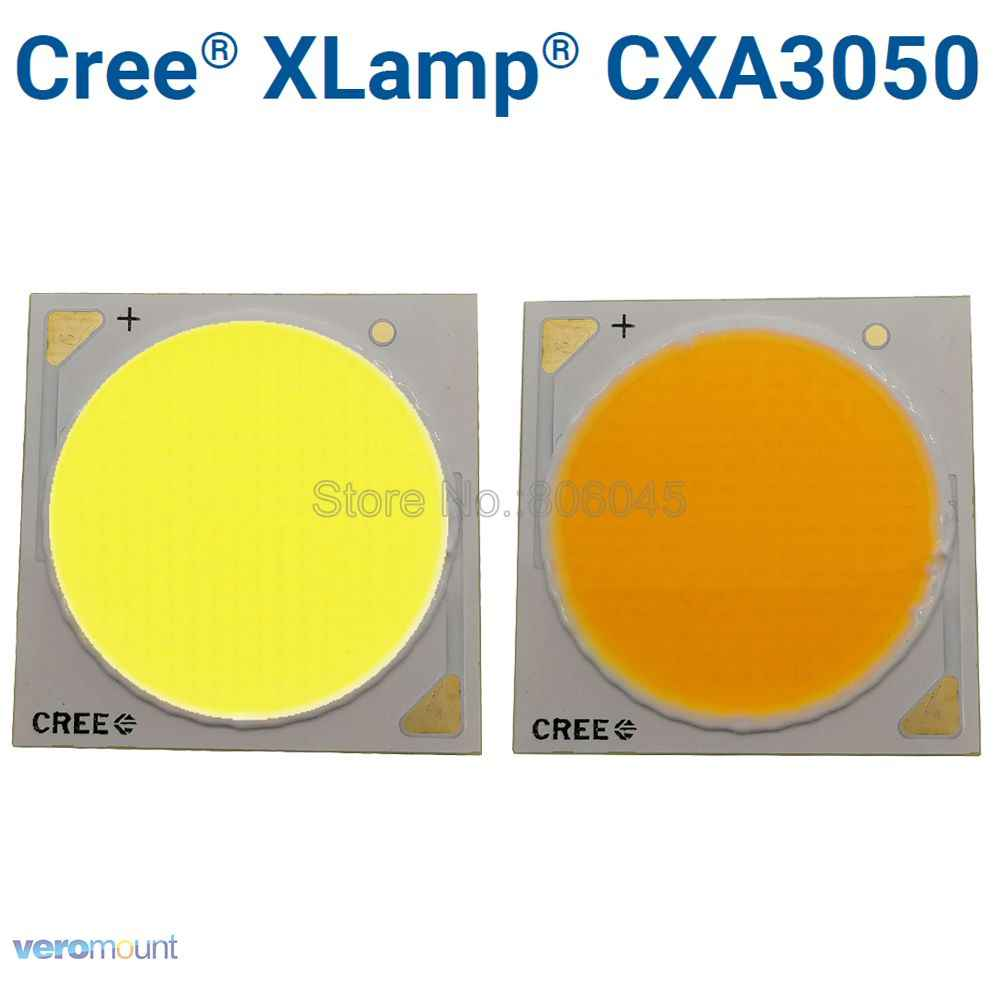 Cree XLamp CXA 3050 CXA3050 100W COB EasyWhite 5000K Warm White 3000K Ceramic COB Chip Diode LED Array with or without Holder