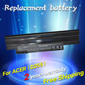 Jigu batería para acer aspire one 522 d255 722 aod255 aod260 d260 d255e d257e d257 d270 e100 al10a31 al10b31 al10g31