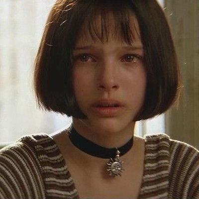 Vintage Women gothic leon the professional mathilda necklace black velvet ribbon Retro sun choker necklace free shipping