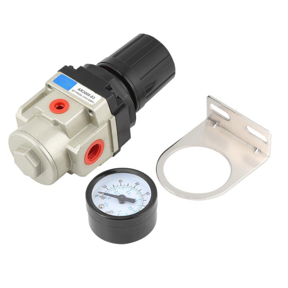 Sanitär Heimwerker Diplomatisch 1 Stück 1mpa Hochdruck Manometer Air Pneumatische Regler G3/8 Gewinde Mit Halter Weich Und Leicht