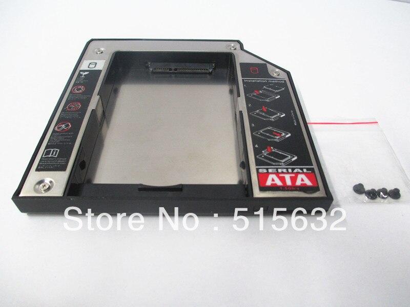 9.5mm 2nd HDD Hard Drive Caddy SATA Adapter Caddy Bay For LENOVO Thinkpad X200 X201 X220