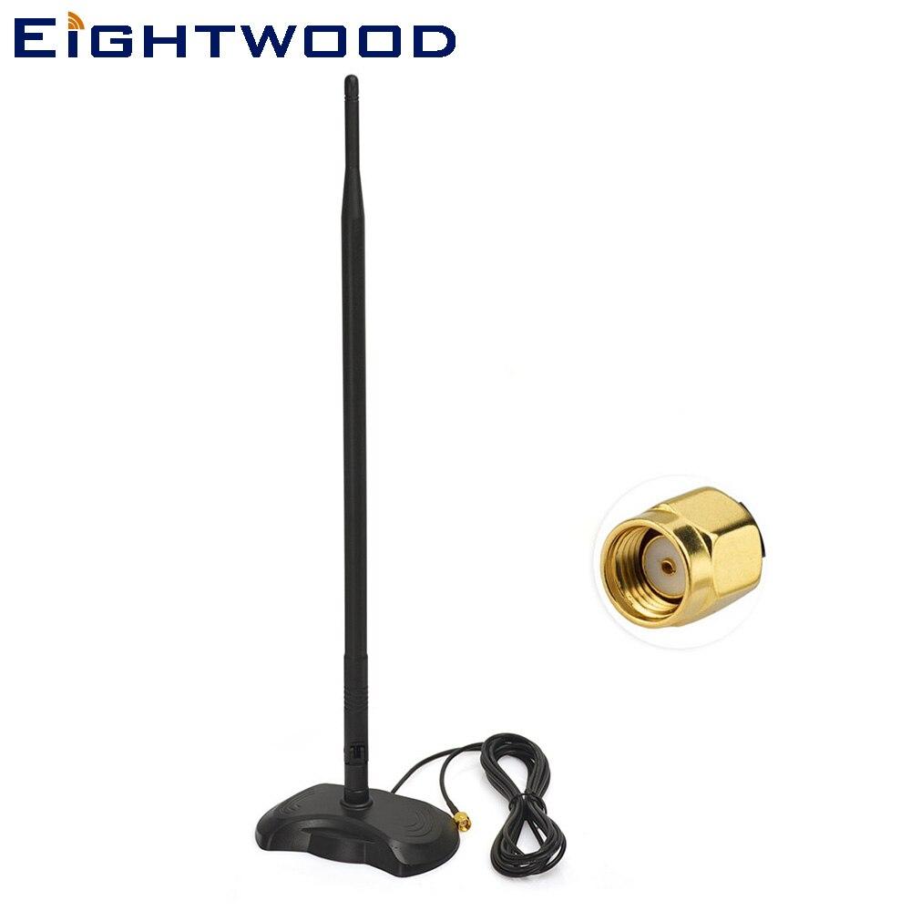 Diszipliniert Eightwood 2,4 Ghz 5 Ghz 6dbi Magnetische Basis Rp-sma Wifi Antenne Kit Für Netgear D-link Router Tp- Link Tl-wdr3500 Tl-wr841nd