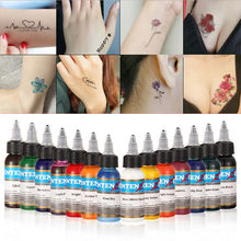 Permanent makeup pigment color tattoo ink kit 14 colors micropigment makeup bloodline tattoo pigment set 30ML gray c bloodline