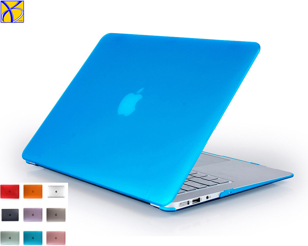 50pcs iCasiber Crystal Matte Hard case For <font><b>Apple</b></font> mac book Air <font><b>Pro</b></font> Retina 11 12 13 <font><b>15</b></font> Laptop Bag for <font><b>Macbook</b></font> Air 13 PC Case <font><b>Cover</b></font> image