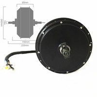 v3 5000W Motor highest torque electric bike hub motor 10kw peak power 24X5T windings 50H magnet