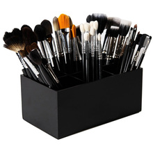 Aila Acrylic Makeup Organizer Brush Mascara Lipstick Stand Case Jewelry Box Cosmetic Holder Storage 6 Lattices