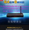 2016 Newest HiMedia A8 Android TV Box RK3368 8 core / Octa-Core 64Bit 3D 4K UHD 1G RAM 8G ROM Network Media Player + Metal Shell