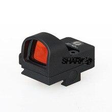 Tactical 2MOA 1X Impermeabilizan la Mini Red dot Scope Sight Alcance de La Caza Para La Caza Real CL2-0078