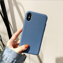 Original Official Silicone Liquid Case for IPhone X XS MAX XR Case for IPhone 6s 6 7 8 Plus Soft Tpu Back Cover Colors Fundas
