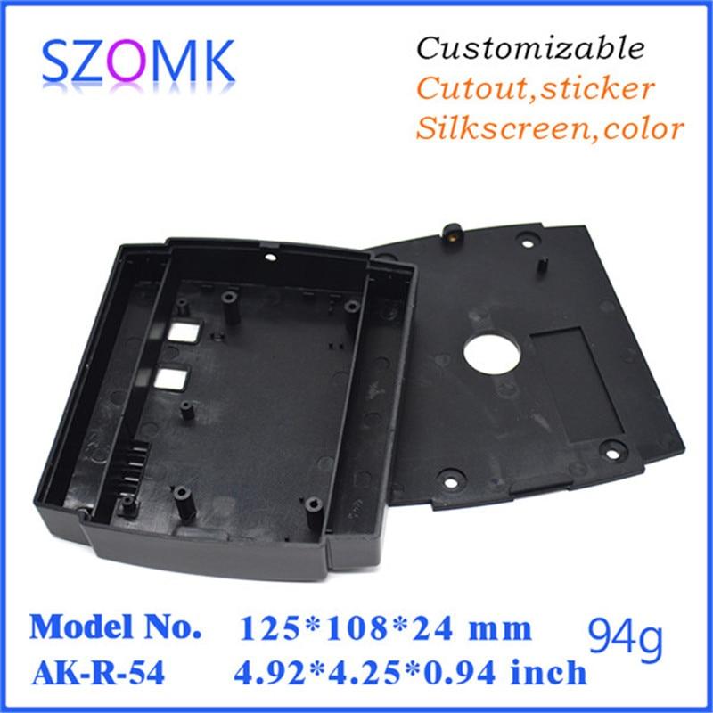 electric distribution box device box shell enclosure (1 pcs) 125*108*24mm door alarm access plastic instrument electronics box