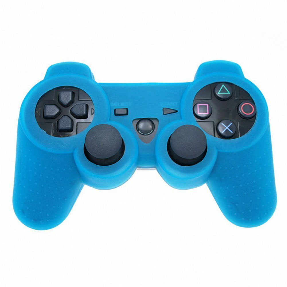 Night Luminous Gamepad  Glow In Dark Game Controller Anti-Slip Silicone Cases Skin Protector Cover For PS3 Only