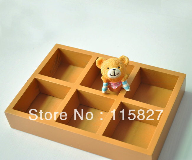 Min order$20(mixed items)2pcs/lot wooden desk organization wooden storage tray wooden pl ...