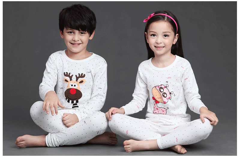 2db6134a2 V TREE Children S Pajamas Cartoon Boys Sleepwear Cotton Pyjamas Kids ...