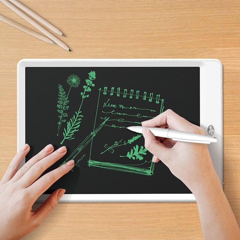 Deli 10.2 LCD electronic handwriting board children hand-painted plate, graffiti, electronic blackboard hand writing board цена