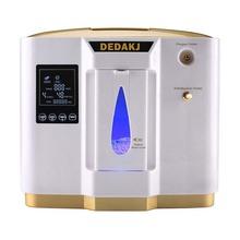 Dedakj DDT-1L Портативный концентратор кислорода генераторы машина для дома; домашняя Толстая Регулируемый Воздухоочистители высокой чистоты AC110V/220 V