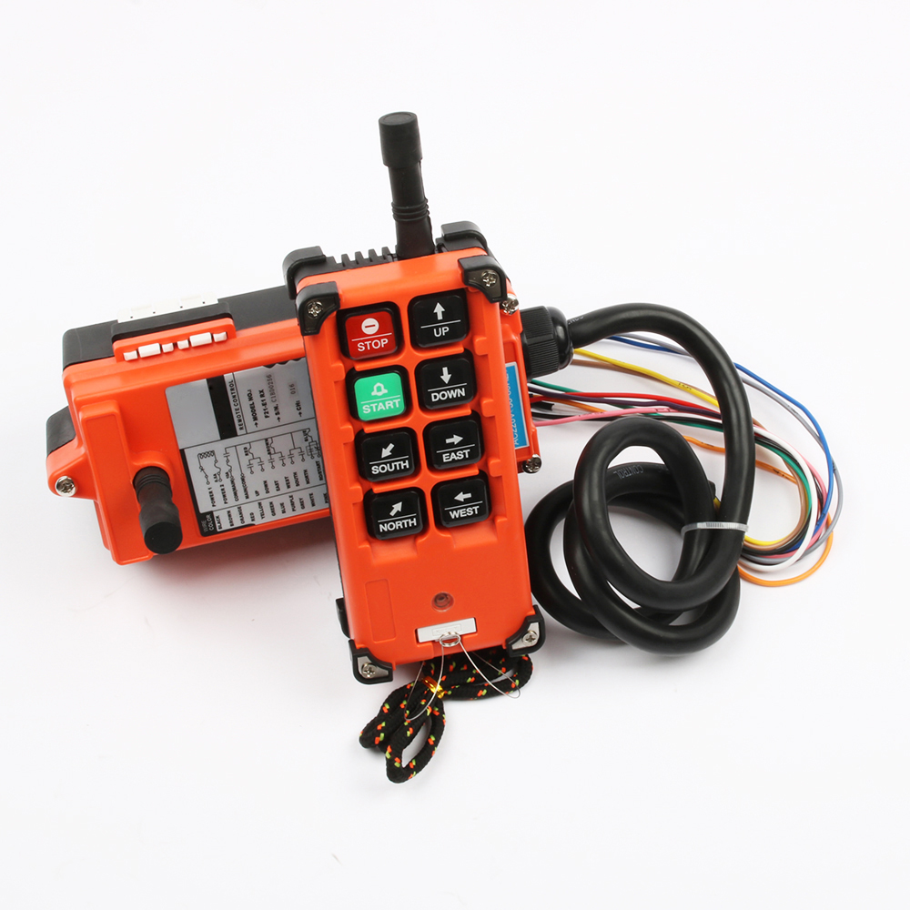Image 2 - Industrial remote switches Hoist industrial Direction wireless Crane Radio Remote System switch 1receiver+ 1transmitter F21 E1B-in Switches from Lights & Lighting