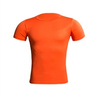 Cycling Shirt Jersey, Running Shirt Orange