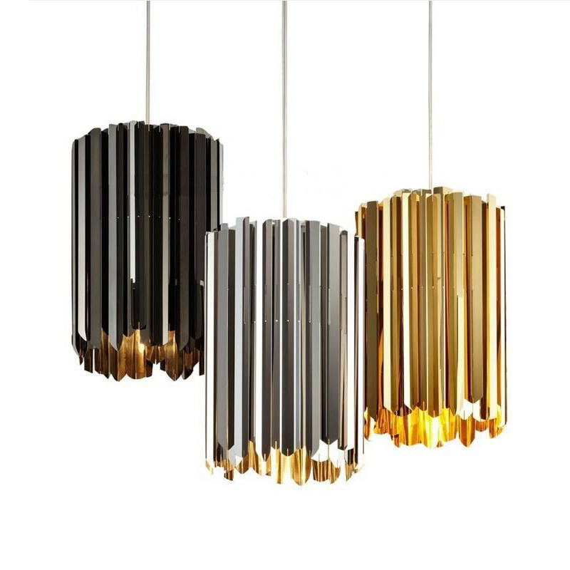 Modern personality simple bar chandelier creative living room restaurant stainless steel single head design teacher ZL7 ya74 шапка check ya head check ya head mp002xm0lzmg