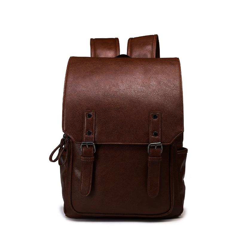 Best-selling College Wind Backpack Bag, Korean Version Computer Bag, Travel Bag,Vintage mens bag