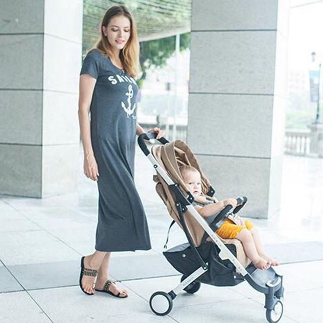 6 Cor da moda crianças carrinho de bebê 2016 novo hot-venda portátil leve guarda-chuva dobrável carro do bebê carro bebek arabasi