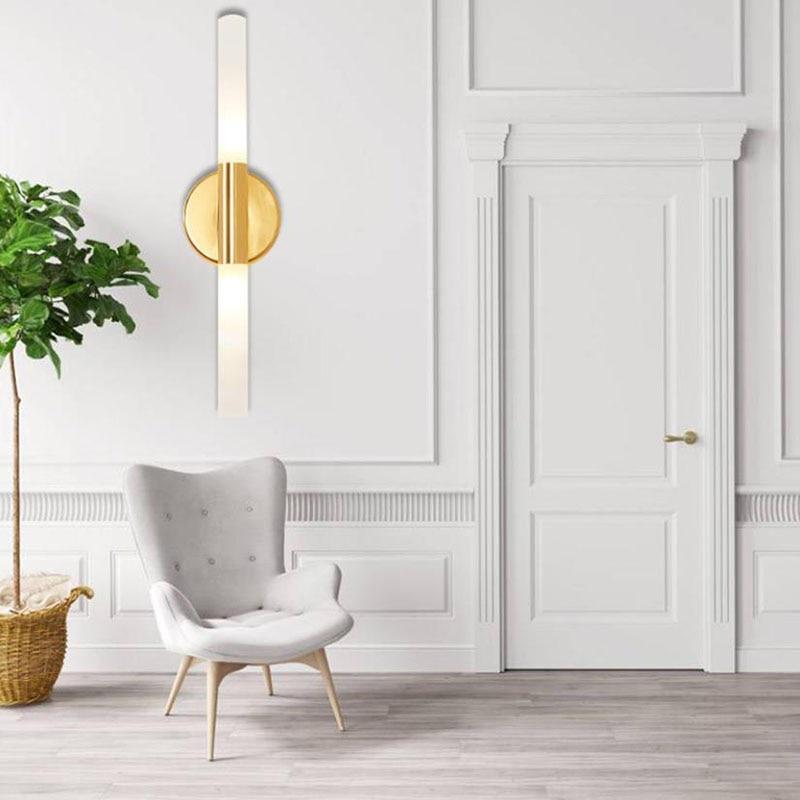 G9 Led Wall Lamp Modern Sconce Stair Light Fixture Living Room Bedroom Bed Bedside Indoor Lighting Home Hallway Loft стоимость