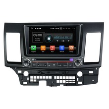 2 din 8″ Android 8.0 Octa Core Car DVD Player for Mitsubishi Lancer 2006 2007 2008 2009 2010 2011 2012 Car Stereo Radio GPS WiFi