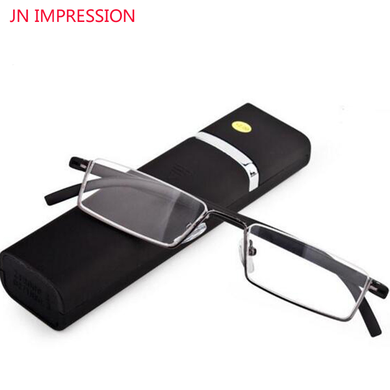 Mote Ultralight Rotate Foldable Reading Glasses Portable Slim TR90 Frame Menn Kvinner Hyperopia Presbyopia Eyeglasses