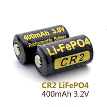 10 sztuk/partia 100% oryginalny Soshine CR2 15266 baterii akumulator litowo-jonowy 3.0 V 400 mAh CR2 akumulator bateria do latarki latarka akumulatorowa