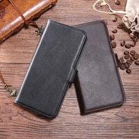 本革のためxiaomi redmi 4x高級ケース財布フリップレトロソフトカバー電話ケース用xiomiコリア4 × telefoonくわ