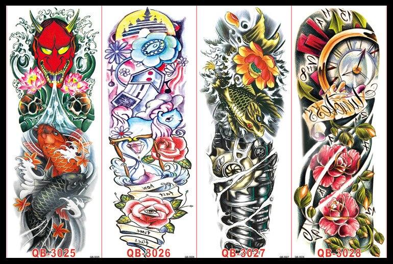 Tatuajes Brazo Completo Full Colors Sfb