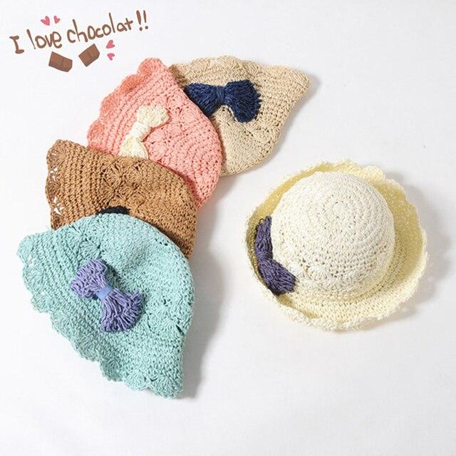 Bebé chapeau sombrero de sol de moda 2017 del verano del resorte del ...