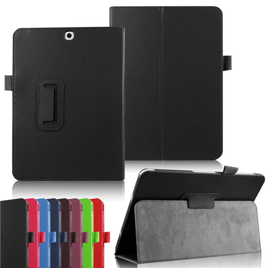 Tab S2 9.7'' Flip PU Leather Case Lichi Stand Book Cover for Samsung Galaxy Tab S2 9.7 inch T815C SM-T810 T815 T813 T819 Tablet luxury flip stand case for samsung galaxy tab 3 10 1 p5200 p5210 p5220 tablet 10 1 inch pu leather protective cover for tab3