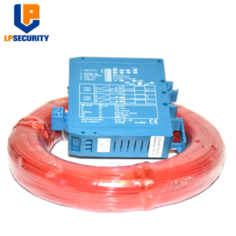 12V 24V In One Car Detector For Gate Opener Operator With 50M/Roll Traffic Inductive Loop Wire