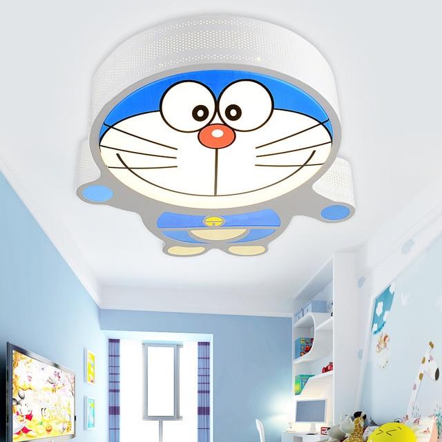 Techo llevada creativa gato de dibujos animados Doraemon niños de ...