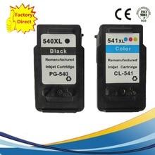 PG-540XL PG540XL PG 540XL CL-541XL CL541XL CL 541XL чернильные картриджи восстановленные Pixma MG4250 MX375 MX435 MX515