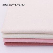 CMCYILING  Soft Felt Fabric For Needlework DIY Sewing Dolls Crafts Polyester Cloth 45*110CM
