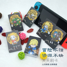 13.56Mhz Ntag215 Zelda NFC Card NS interruttore di gioco TAG RFID Card Mini NFC Phone Card Ntag 215 Smart Chip Include 20 heart Wolf Link