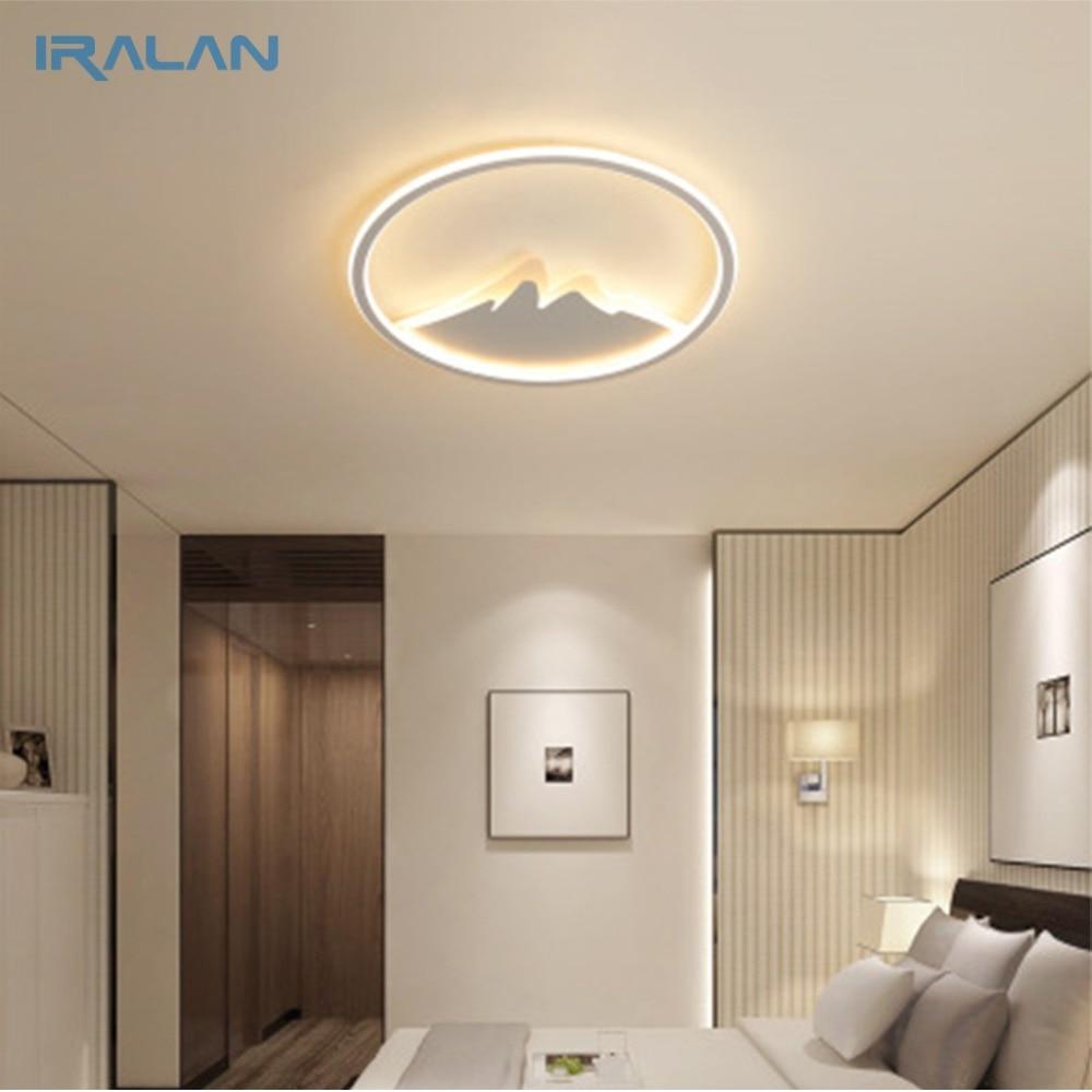 IRALAN LED Ceiling Light Modern Nature Mountain Design Living Room Bedroom Kitchen dining room Lighting Fixture